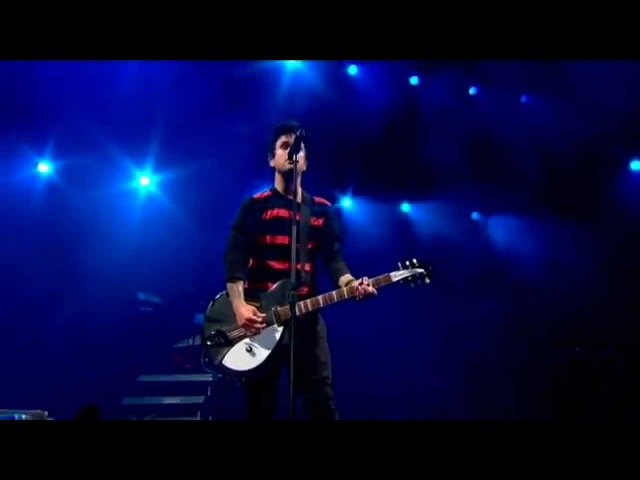 Green Day - Wake Me Up When September Ends (Live)