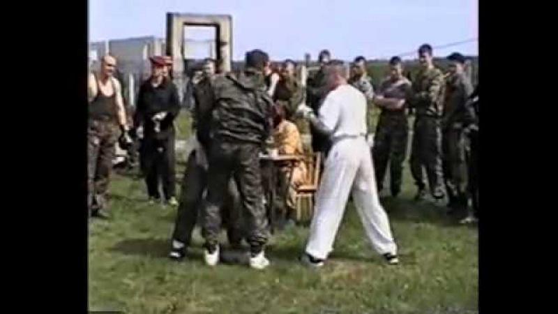 Сдача на Краповый берет. 8 ОСН Русь 1996г.