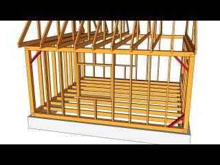 Технология строительства каркасных домов. Каркасный дом своими руками. Часть 2