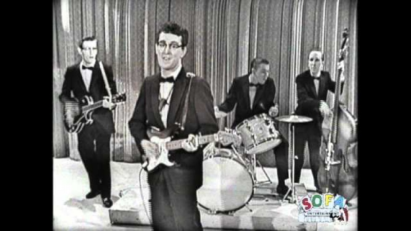 Buddy Holly His Crickets That'll Be The Day on The Ed Sullivan Show