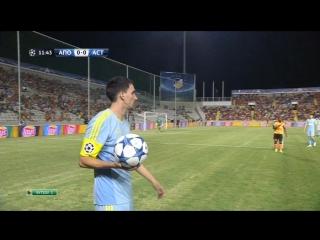 Полный матч АПОЭЛ-'Астана' (1:1)