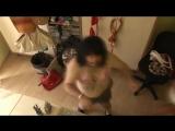 Вот это прикол ) голая девушка зажигает, сиськи прикол, ржач, 100500, страх, жесть, вдв, драка, фильм, секс, подборка, украина,