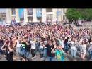 Флешмоб Руханка на День Европы в Украине