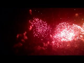 Салют на Поклонной горе в честь 70-и летия Великой Победы