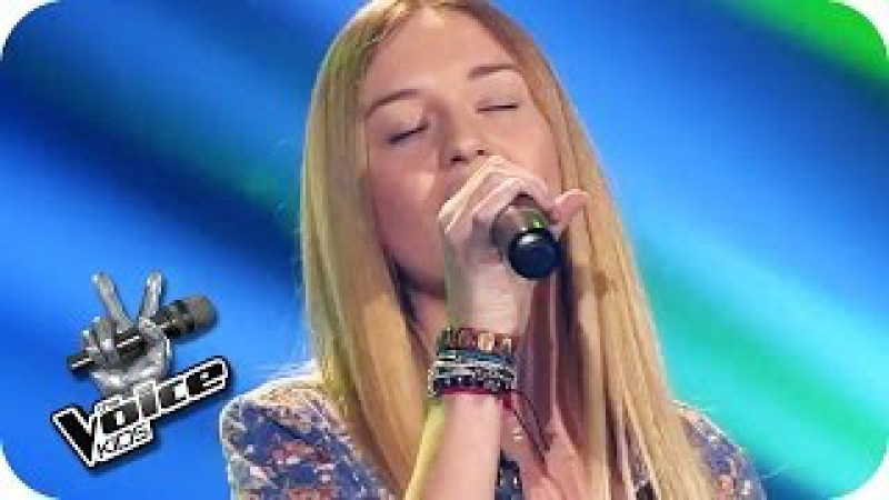 Miley Cyrus - Wrecking Ball (Pia)   The Voice Kids 2014   Blind Audition   SAT.1