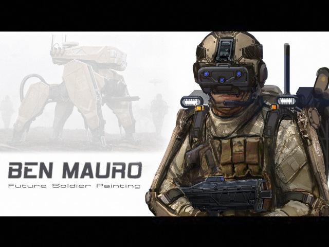 Ben Mauro - Future Soldier Photobash