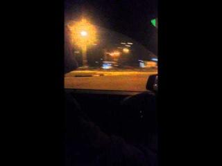 Моё первое вождение - Mercedes-Benz C180 (29.10.2014) - часть 1