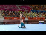 Polina Fedorova Floor EF - Universiade Gwangju 2015