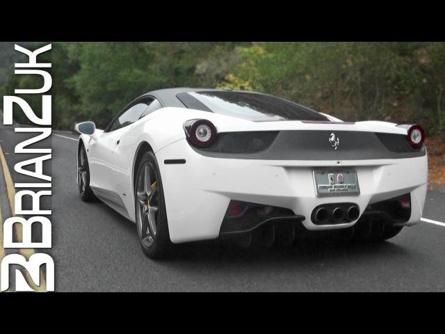Ferrari 458 Italia with Novitec Exhaust In Action