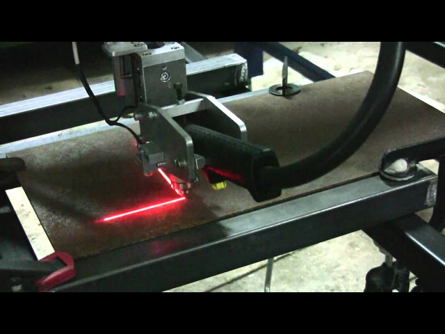Homemade CNC Plasma router with Mach3 and Triple Beast HD