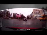 Измаил. ДТП с велосипедистом 13.11.2014