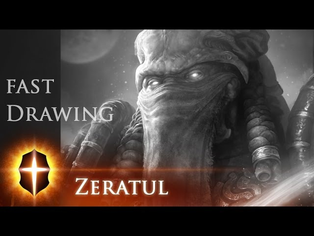 Zeratul - Fast Drawing by TAMPLIER 2015