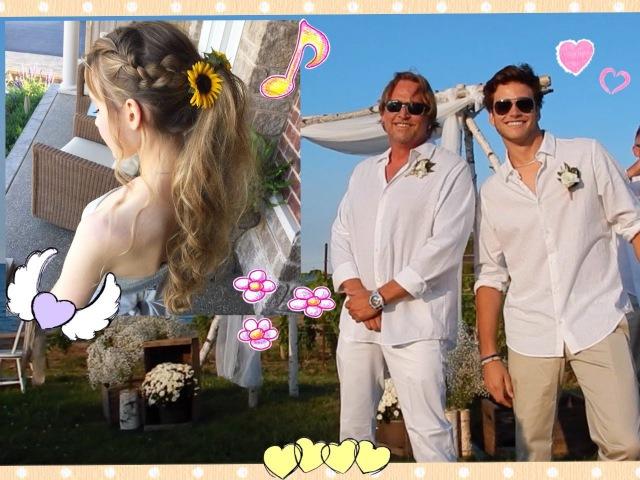 My Dads Wedding Vlog/Pretty Summer Ponytail Hair Tutorial ❀
