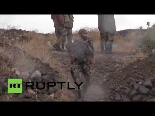 Сирия: Армия победил землю против Аль-Нусра фронта вблизи границы с Израилем.