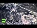 Сирия Русская авиаудар хитов подозревают боевой крепость в Хаме.
