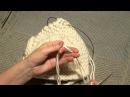 Как связать шапку окончание