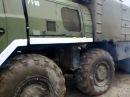 МАЗ 543 горит Автомобильные войска, автобат
