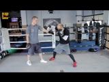 Разбор сильнейшего удара Джони Хендрикса. Boxing. Johny Hendricks fight style.