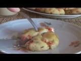 Пышные соленые сырники из творога в духовке