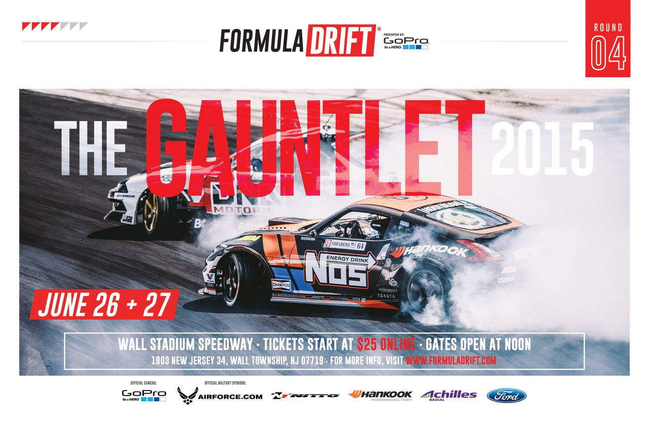 Formula Drift New Jersey '15, прямой эфир