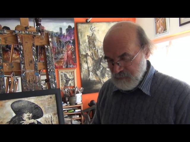 США 910: мы беседуем с художником Владимиром Витковским в его мастерской, г. Сан Франциско