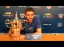 Cilic's message for the fans