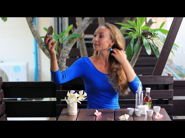 Кокосовое масло для лица Подробные способы применения Тайская косметика