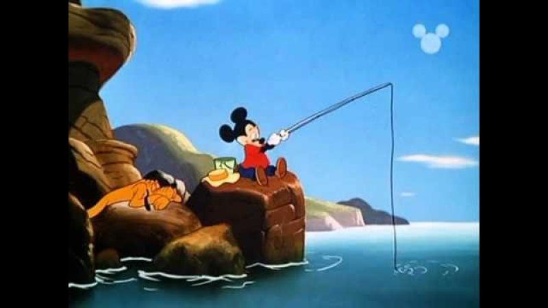 Walt Disney - Topolino Paperino e Pippo - Topolino a pesca
