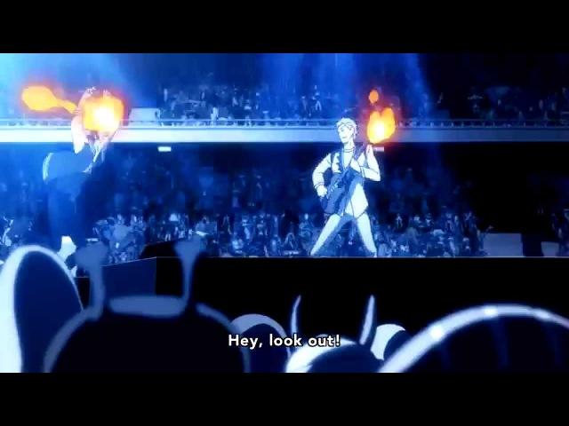「Space☆Dandy」 Concert Scene Kanchigai Lonely Night Rock 'n' Roll Dandy Baby Season 2 Ep 7