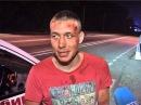 Пытаясь уйти от полиции водитель попал в ДТП в районе Шаморы