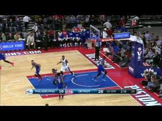 [HD] Philadelphia 76ers vs Detroit Pistons | Full Highlights | January 17, 2015 | NBA Season 2014/15