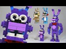 How to Build LEGO Bonnie Toy Withered Springtrap LEGO FNAF