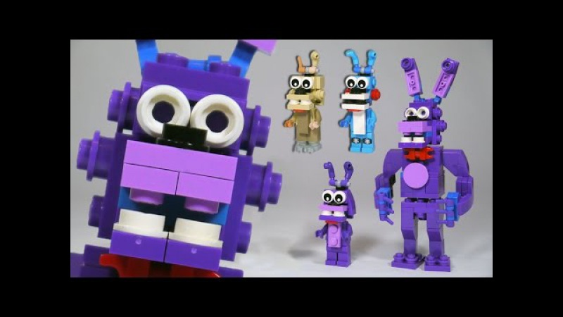 How to Build LEGO Bonnie (Toy, Withered Springtrap) | LEGO FNAF