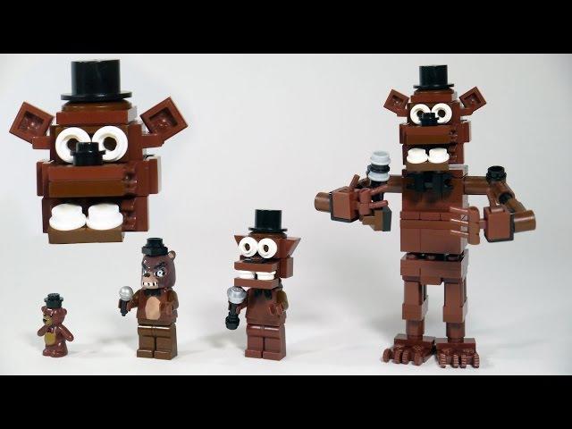 How To Build LEGO Freddy Fazbear (Five Nights at Freddy's | FNAF)