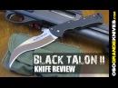 Нож складной Cold Steel Black Talon II Serrated Edge 22BTS