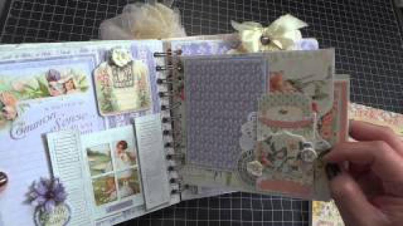 G45 Secret Garden Mini Album - Complete walk through