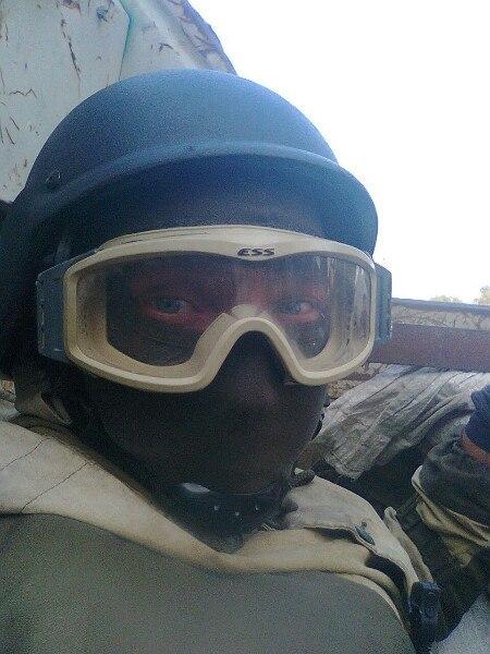 Снайпер со Светловодска, встречался с 7-Б классом.