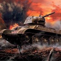 Логотип Танковые баталии оффлайн.