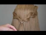 3 Strands Uneven Braid Hair Tutorial