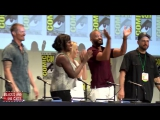Suicide Squad Comic Con Panel_ Will Smith, Margot Robbie, Cara Delivigne, Viola Davis, Jai Courtney
