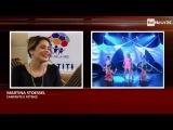 Entrevista a Tini para RAI ll Roma.