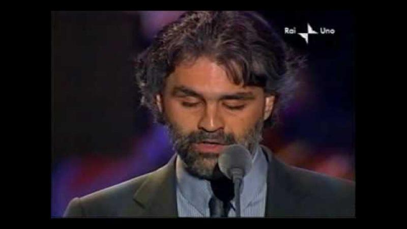 Pavarotti Friends Andrea Bocelli - En Aranjuez Con Tu Amor 2003-05-27