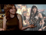 CBR TV @ NYCC 2015: Lucy Lawless Talks the