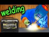 Как сделать точечную ( контактную ) сварку своими руками / How to make a spot (contact) welding