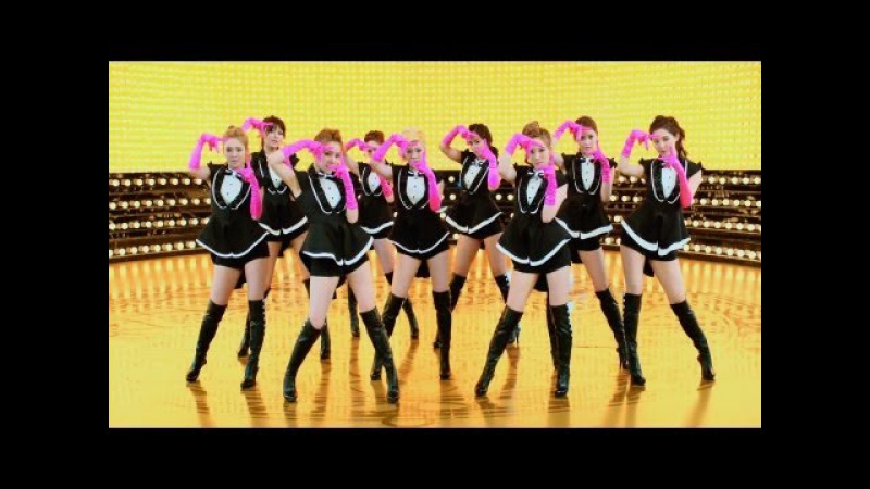GIRLS` GENERATION 少女時代 PAPARAZZI Music Video Dance Edit GOLD