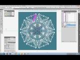 Шаблон для создания круговых орнаментов (Инструкция)