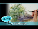 How to Paint a Spontaneous Watercolor Landscape – Accidental Painting