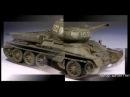 Танк Т-34-85, T-34/76 модели М1/72