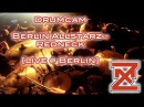Berlin Allstarz - Redneck (Lamb Of God COVER) [Live Concert Drum Cam]