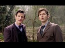 Eleventh Doctor Meets The Tenth Doctor Doctor Who The Day of the Doctor BBC